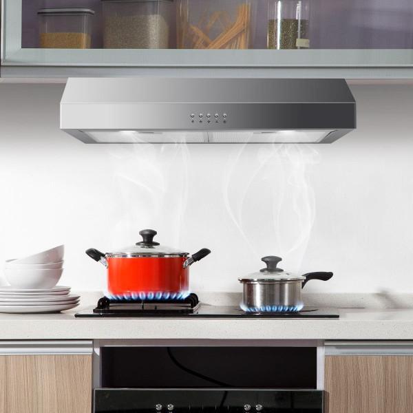 """204W 30"""" Under Cabinet Kitchen Range Hood EP23445"""