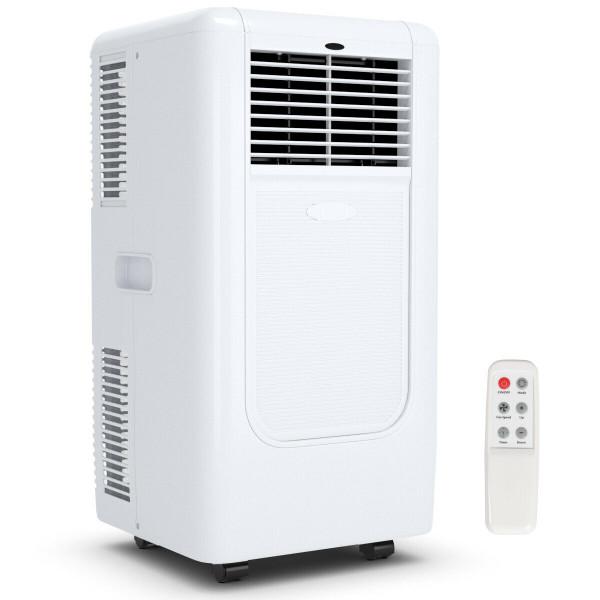Portable 10000 Btu Air Conditioner Cooling Dehumidify Timer Remote EP23572