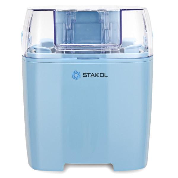 1.6 Quart Automatic Ice Cream Maker Freezer Dessert Machine-Blue EP23818US-BL