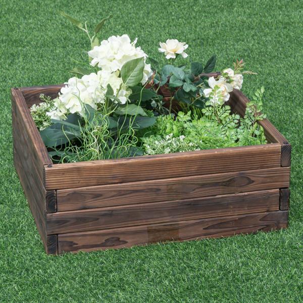 Square Raised Garden Bed Flower Vegetables Seeds Planter GT3207