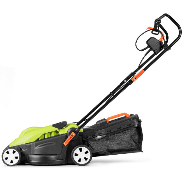 14-Inch 10 Amp Lawn Mower With Folding Handle Electric Push GT3414