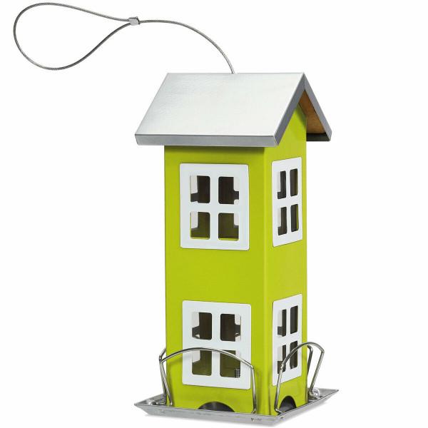 Outdoor Garden Yard Wild Bird Feeder Weatherproof House-Green GT3423GN - (Pack Of 2)