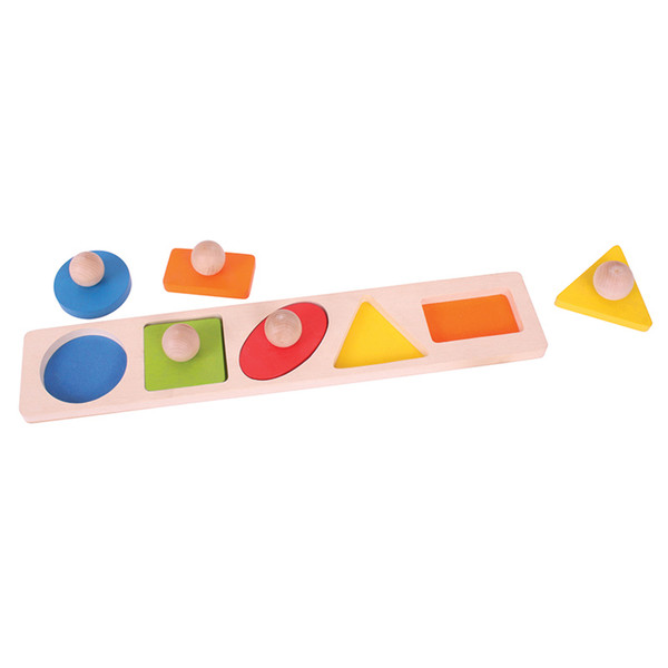 Matching Board Puzzle Shapes BJTBB040