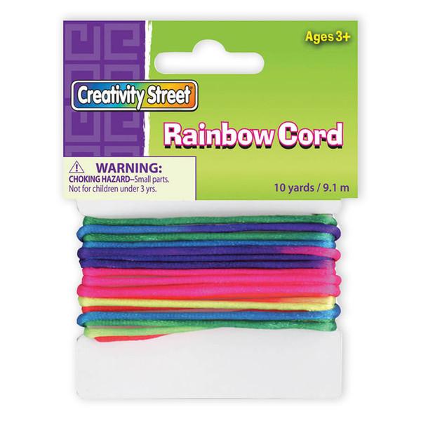 Rainbow Cord 10 Yds Non-Elastic CK-3517