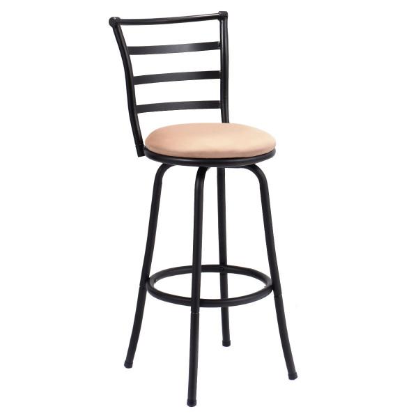 Modern Swivel Bar Stool Counter Height Chair HW52697