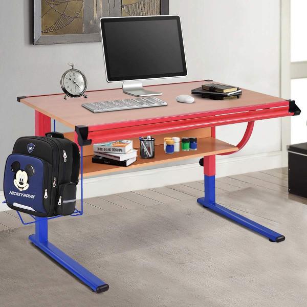 Adjustable Wooden Drafting Table Workstation Drawing Desk HW52828