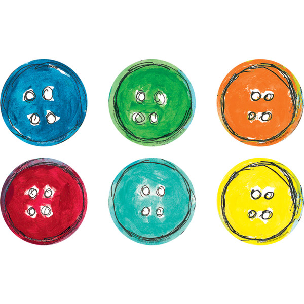(3 Pk) Groovy Buttons Magnetic Accents Pete The Cat EP-62015-3