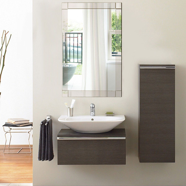 "36"" Rectangle Bathroom Vanity Wall Mirror HW53899"