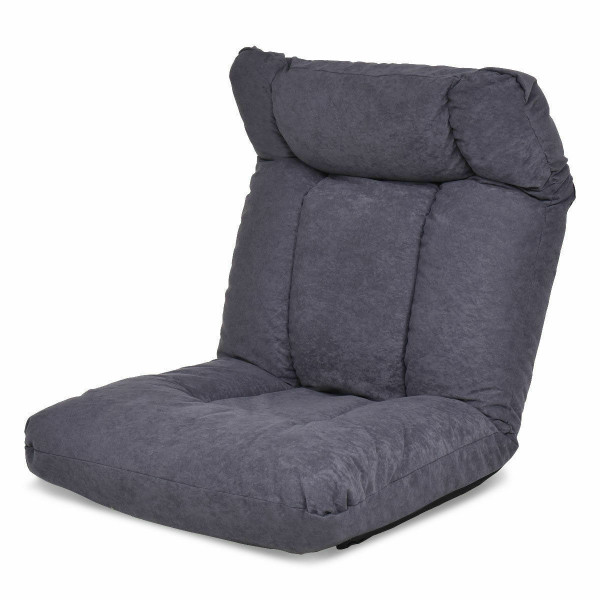 Cushioned Floor Gaming Sofa Chair With Headrest HW56189