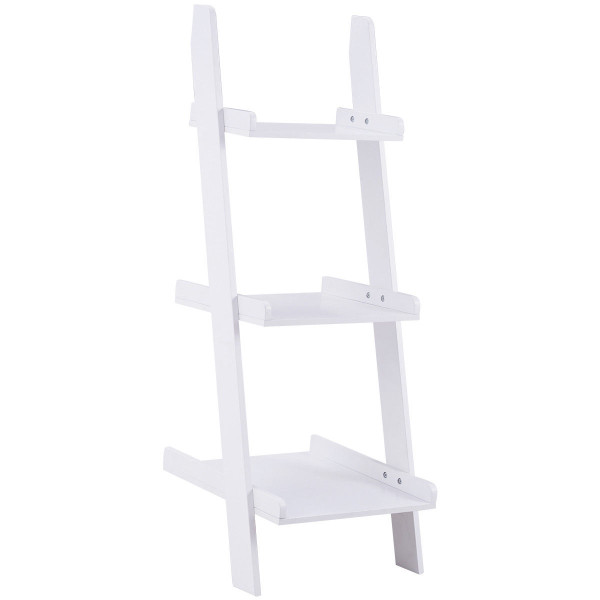 3 Tier Leaning Wall Ladder Display Planting Storage Rack HW56699