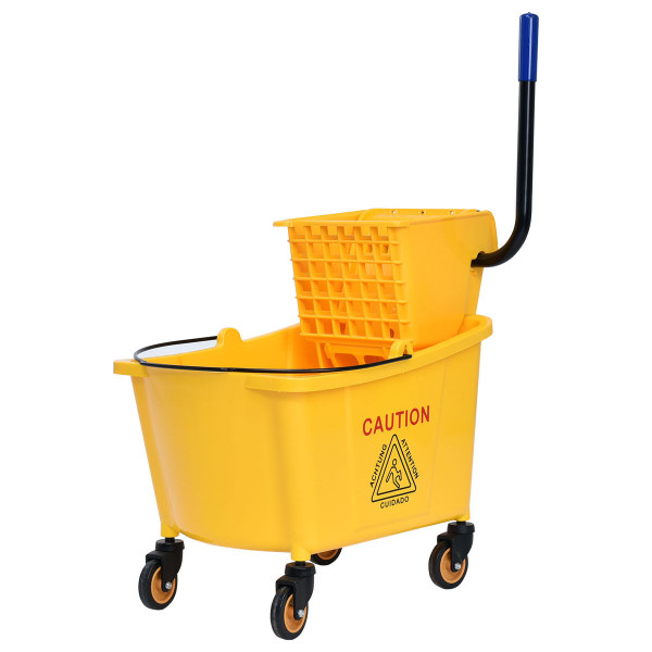 31 Quart Side Mop Bucket Press Wringer HW56768