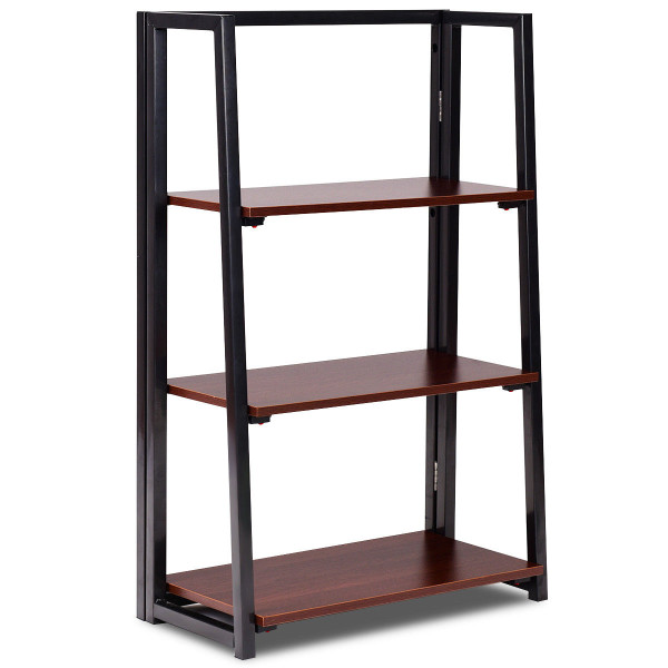 3 Tier Multifunctional Plant Flower Display Stand Ladder Shelf HW58804