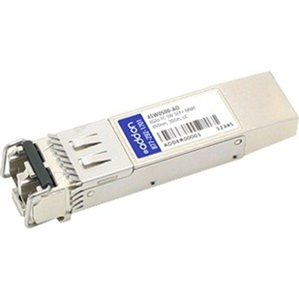 Ibm 45W0500 Compatible Taa Compliant 8Gbs Fibre Channel Sw Sfp+ Transceiver (Mmf, 850Nm, 150M, Lc) By Addon