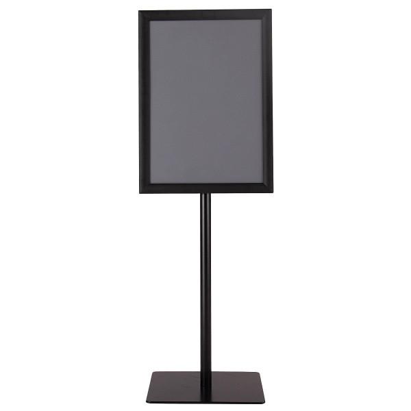 """11"""" X 17"""" Adjustable Aluminum Pedestal Poster Graphics Stand Holder-Black HW59107BK"""
