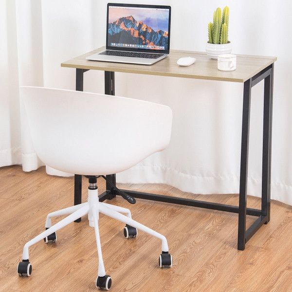 Folding Office Computer Desk Writing Study Workstation HW59217