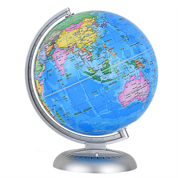 """8"""" Illuminated Up-To-Date Built-In Led Night World Globe HW59498 - (Pack Of 2)"""