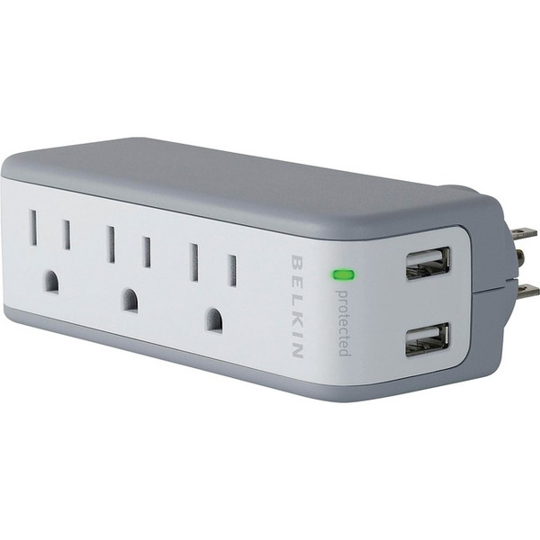 Mini Surge Protector With Usb Charger By Belkin