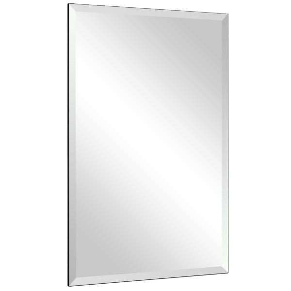 "24"" X 36"" Rectangle Wall Mounted Bathroom Beveled Mirror HW61431"