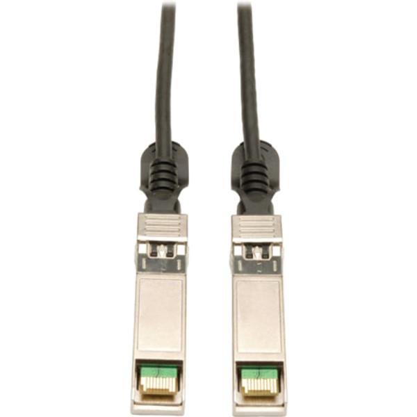 7M Sfp+ 10Gbase-Cu Twinax Passive Copper Cable Sfp-H10Gb-Cu7M Compatible Black 23Ft 23' By Tripp