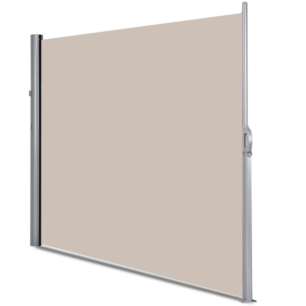 """118.5"""" X 71"""" Patio Retractable Folding Side Awning Screen OP3569"""