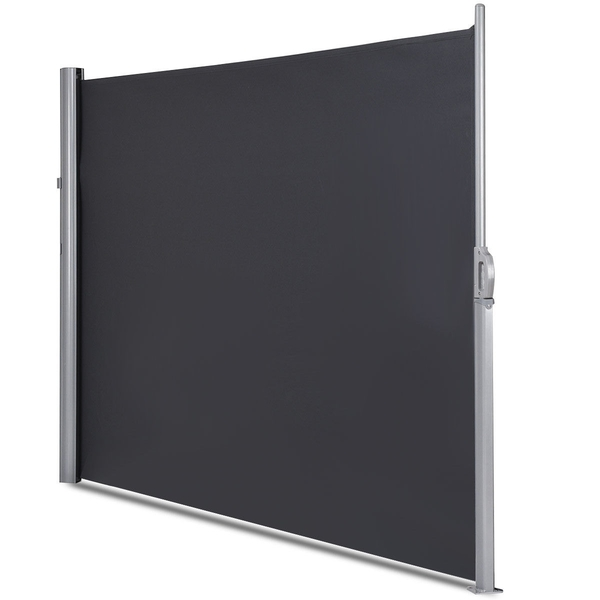 """118.5"""" X 63"""" Patio Retractable Folding Side Awning Screen Privacy Divider OP3571"""