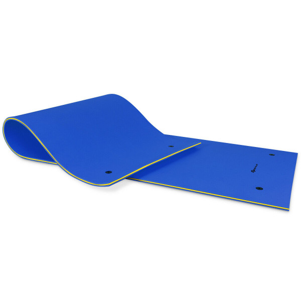 3 Layer Floating Oasis Water Pad Foam Mat-Blue OP3820BL
