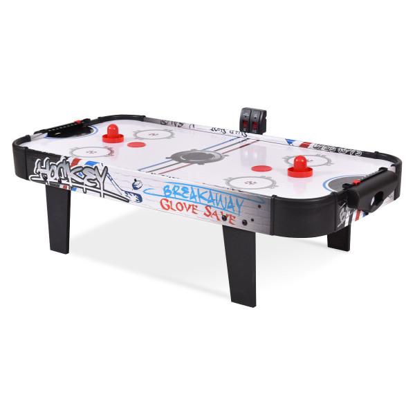 "42"" Air Powered Hockey Table Top Scoring 2 Pushers SP35332"