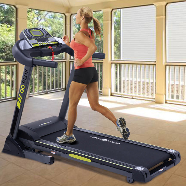 2.5 Hp Motorized Power Running Folding Treadmill With Electric Support SP35367+