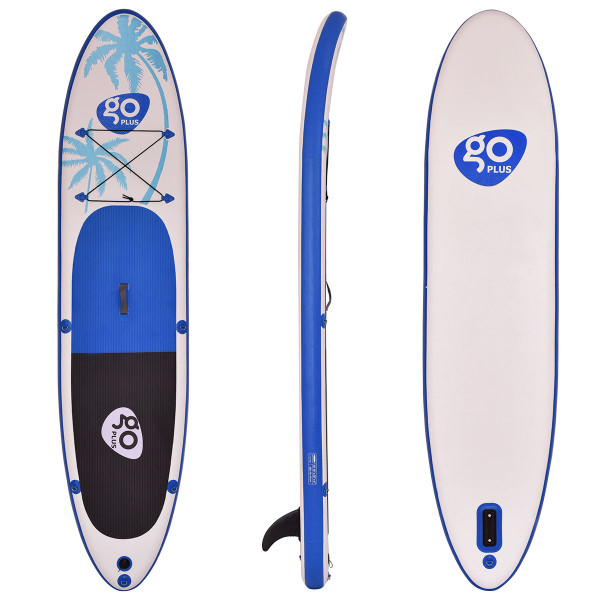 Goplus 11' Inflatable Standup Paddle Board Sup With Fin SP35415