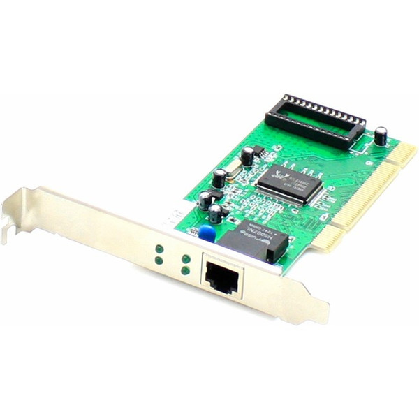 10/100/1000Mbs Single Open Rj-45 Port 100M Copper Pci Network Interface Card By Addon