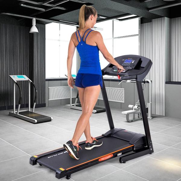 2.5 Hp Electric Motorized Power Folding Treadmill SP35876