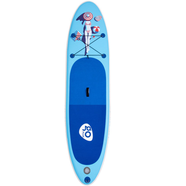 10' Inflatable Stand Up Paddle Board W/ Fin SP36153