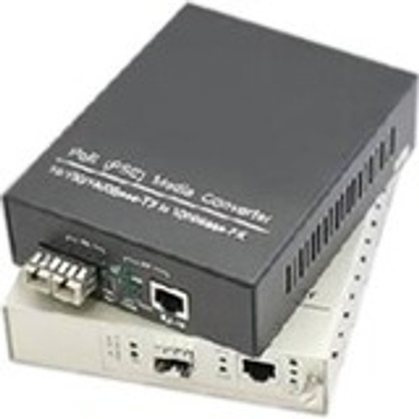 10/100/1000Base-Tx(Rj-45) X4 To 2 Open Sfp Port Poe Media Converter By Addon