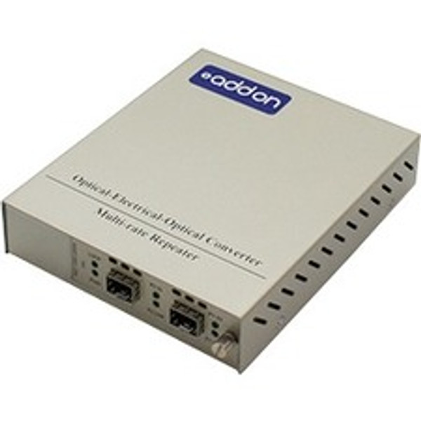 1 10/100/1000Base-Tx(Rj-45) To 2 Open Sfp Ports With Failover Protection Standalone Media Converter Card Kit By Addon