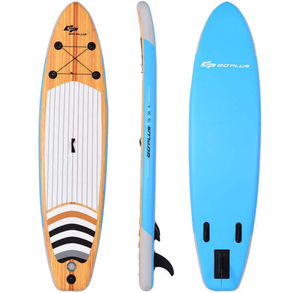 """10"""" Inflatable Stand Up Paddle Board Surfboard Sup With Bag SP36342"""