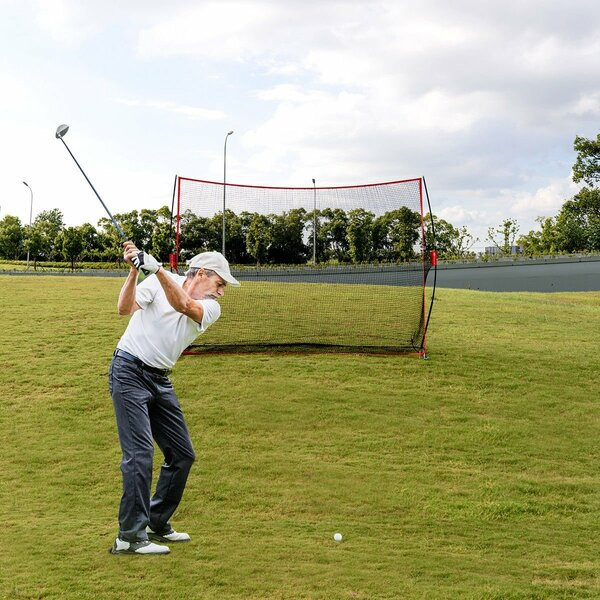 """10"""" X 7"""" Golf Practice Net Training Hitting Personal Driving SP36364"""