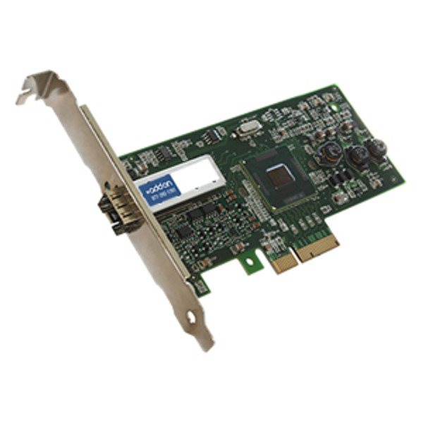 100Mbs Single Open Sfp Port Network Interface Card By Addon