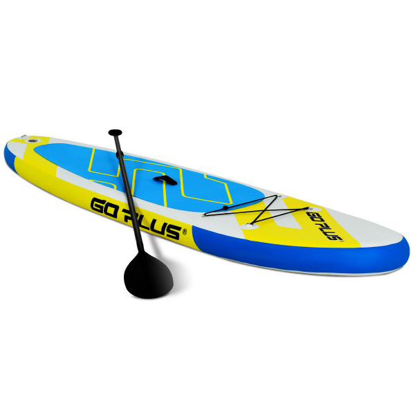 10' Inflatable Stand Up Paddle Surfboard With Bag SP36833
