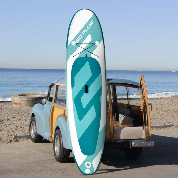 10' Inflatable Water Sport Stand Up Paddle Board Surfboard SP36834