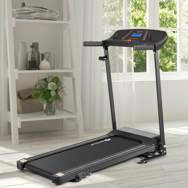 1.0Hp Folding Treadmill Electric Support Motorized Power SP36921