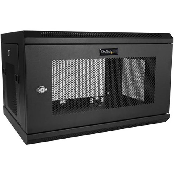 6U Wallmount Server Rack Cabinet - Server Rack Enclosure - Wallmount Network Cabinet - Up To 14.8 In. Deep By Startech.Com