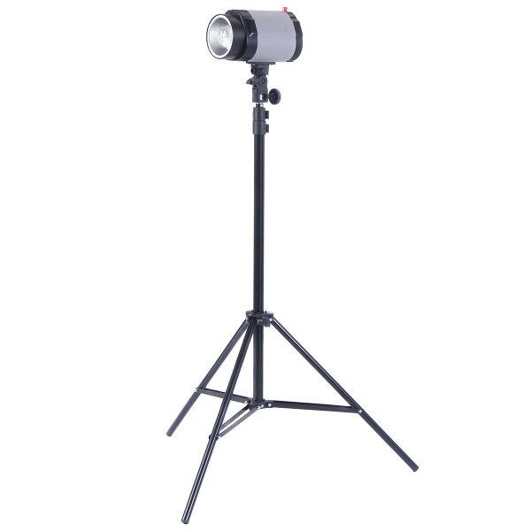 2 X 160W Flash Lamp Holder Set With Light Stand ST36222