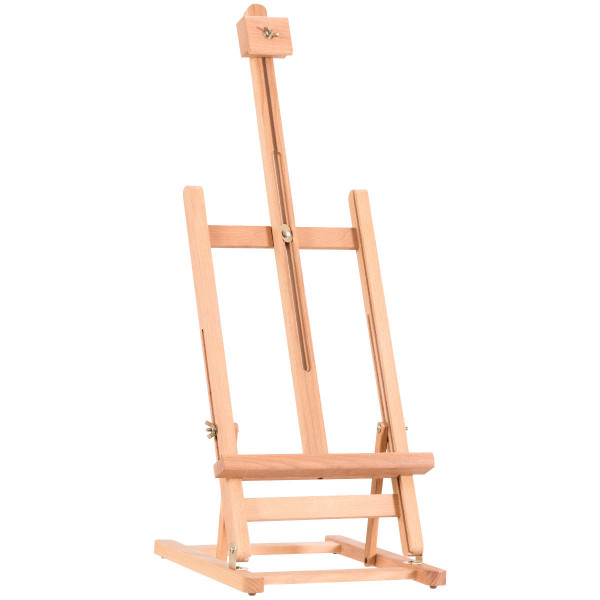 Adjustable Portable Wood Tabletop Easel H-Frame For Artist Painting Display ST38477 - (Pack Of 2)