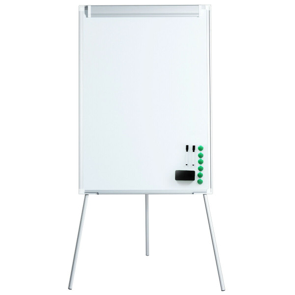 """40"""" X 28"""" Dry Erase Height Adjustable Tripod White Board Easel ST39037"""
