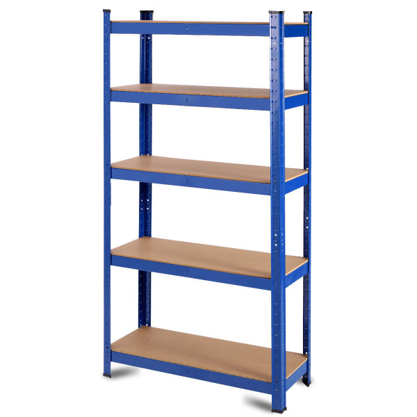 "35.5"" X 71"" Adjustable 5-Layer 2000 Lbs Capacity Tool Shelf TL34072"
