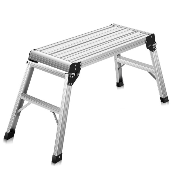 Heavy Duty Portable Bench Aluminum Folding Step Ladder TL34074