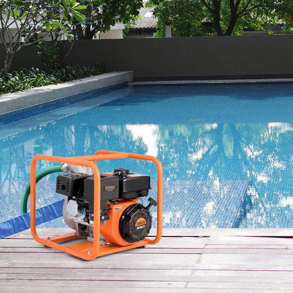 "7 Hp 4-Stroke Portable Gasoline Water Transfer Pump-3"" TL34905"