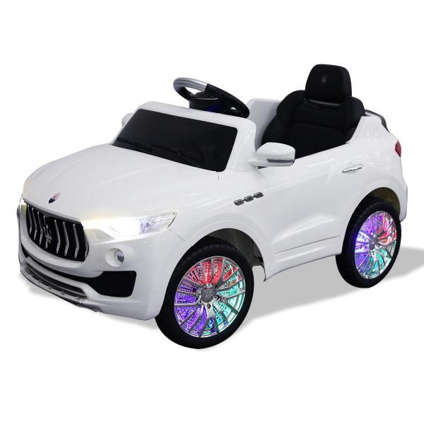 6V Licensed Maserati Kids Ride On Car-White TY565275WH
