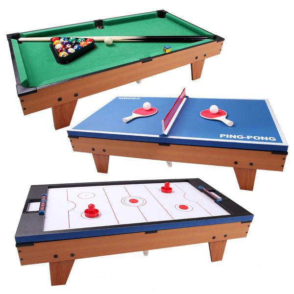 3 In 1 Air Hockey Ping Pong Billiard Multifunctional Table TY571922