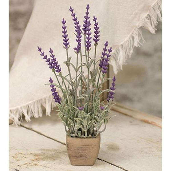 """'+Gillie Lavender In Pot 9.5"""" FFG9505 By CWI Gifts"""